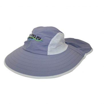 כובע גן בוטני עם מגן עורף